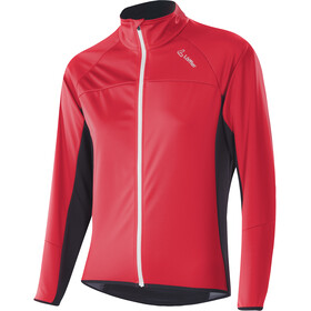 Löffler Alpha Windstopper Light Fahrrad Jacke Damen flamenco